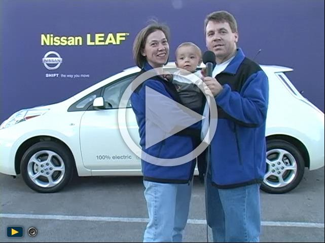Help us win a New Nissan Leaf
